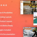 SK Store –  Responsive Store WP theme for Sport and Athletes