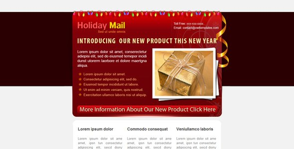 Holiday Mail - 5 COLORs