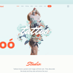 Tattoo Shop – theme for Tattoo Piercing Studio            – Download and Free Demo