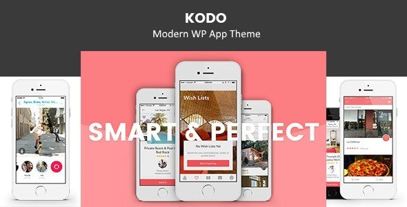 Kodo – Business WP App Theme            – Download and Free Demo