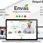 Envas – Multipurpose Business Drupal 8 Theme            – Download and Free Demo