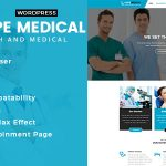 Hope Medical – Health And Medical WordPress Theme            – Download and Free Demo
