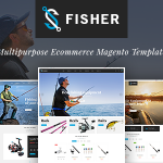 TV Fisher – MultiStore  Responsive Magento 2 Themes            – Download and Free Demo