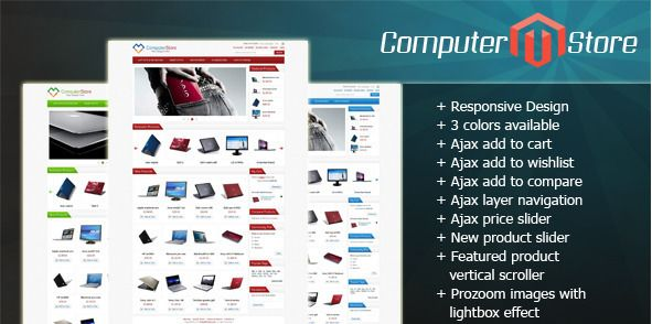 Computer Store Magento Themes
