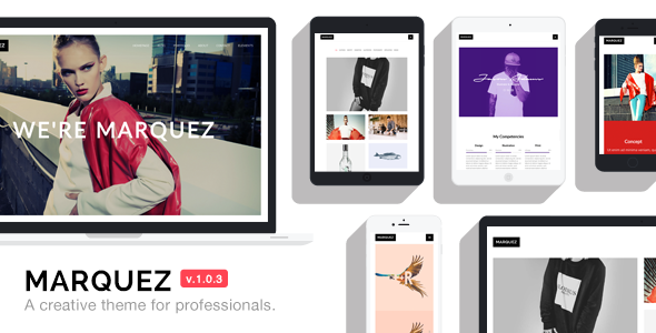 Marquez – A Creative WordPress Theme for Creatives and Agencies  – Download and Free Demo