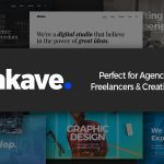 Akave – Theme for Agencies, Freelancers & Creatives            – Download and Free Demo