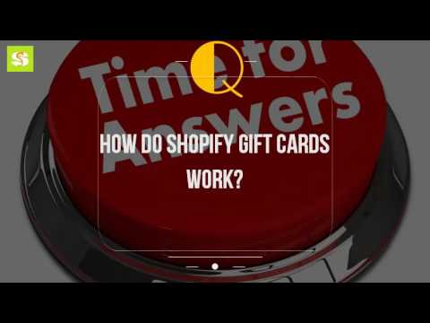 How Do Shopify Gift Cards Work?