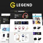Legend – Multipurpose Responsive Drag and Drop Shopify Theme | Themeforest Website Templates and