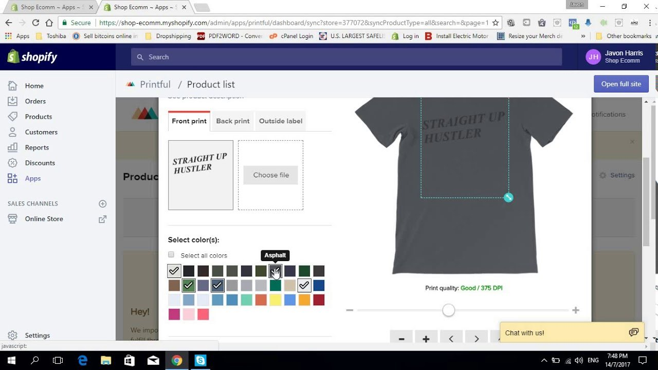 How To Use Printful To Start A Free Shopify Print On Demand Dropshipping Business