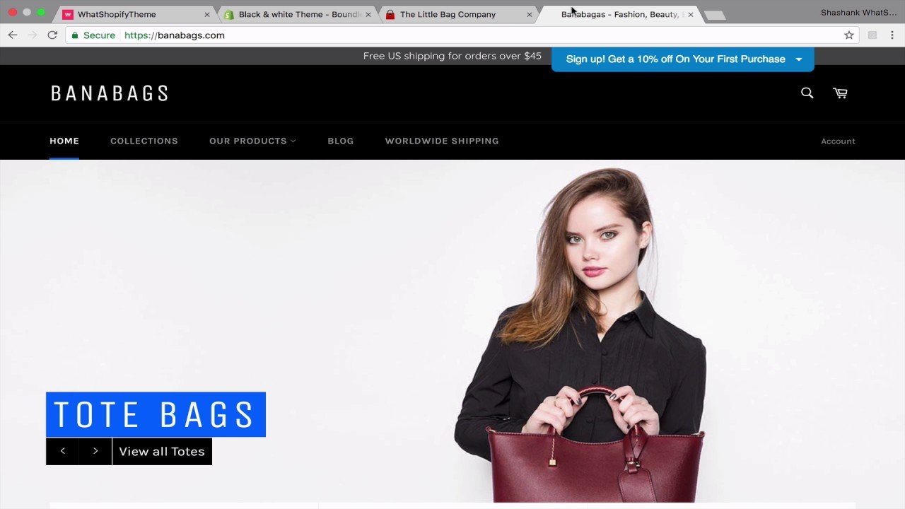 How to find what shopify theme an online store is using