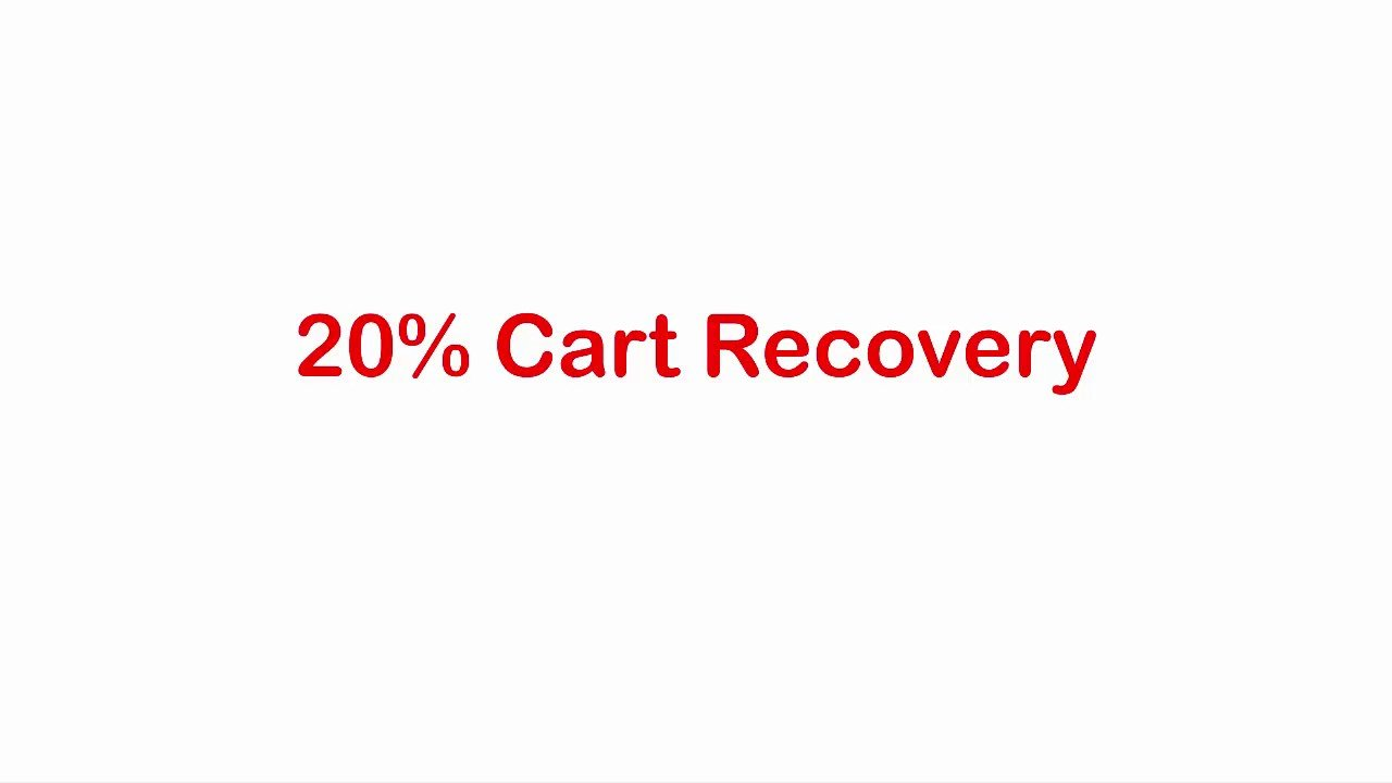 SMS Abandoned Cart Recovery Shopify App