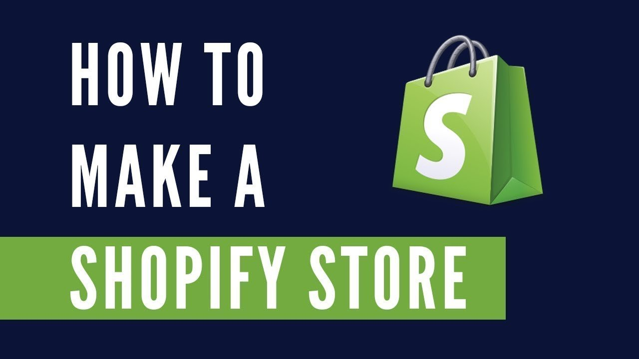 Shopify Tutorial For Beginners 2017 – Create Your Online Store