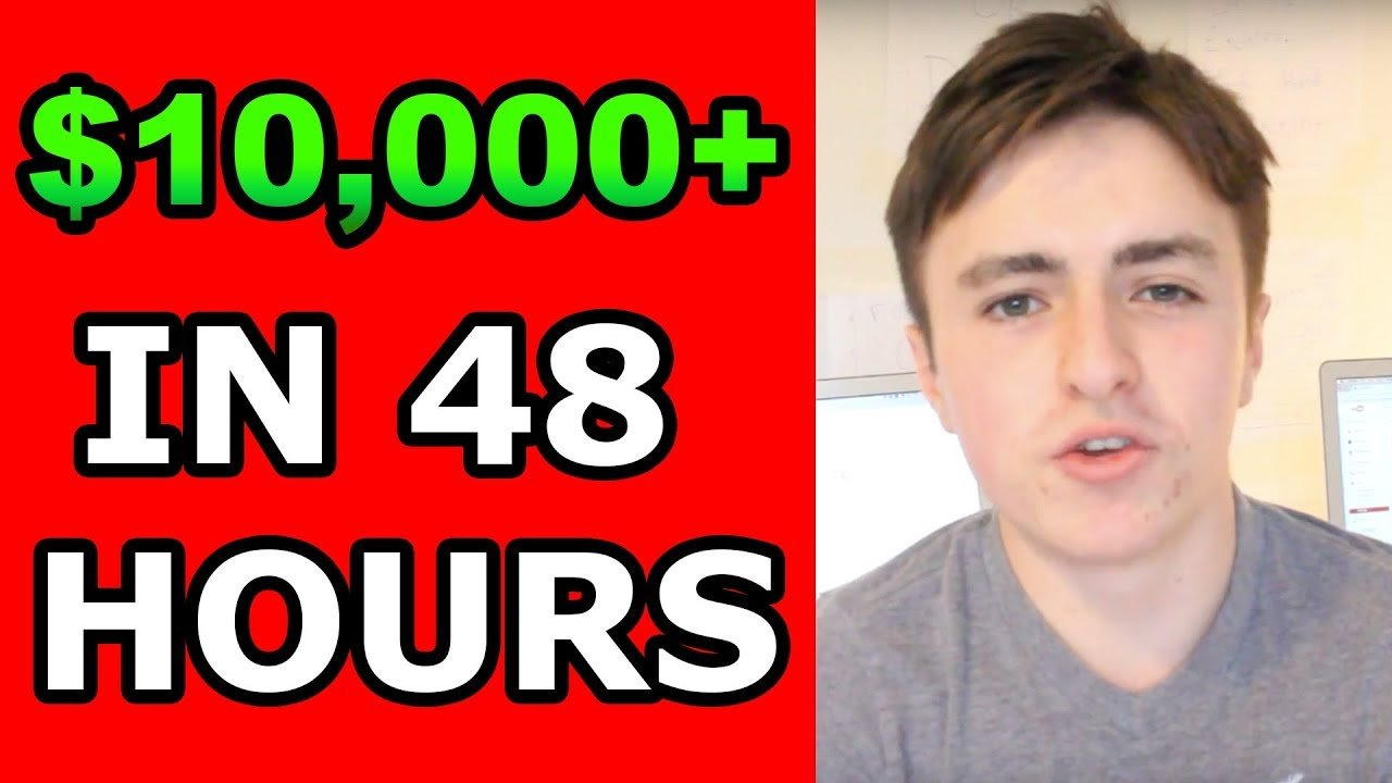 SHOPIFY TRAINING | HOW I MADE $10K IN 48 HOURS WITH INSTAGRAM DROP SHIPPING ON SHOPIFY