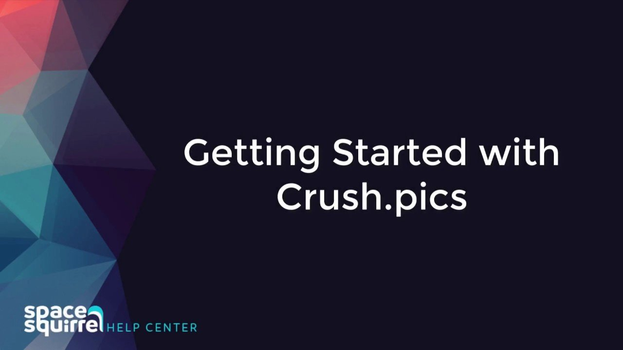 Getting Started with Crush.pics Shopify Application