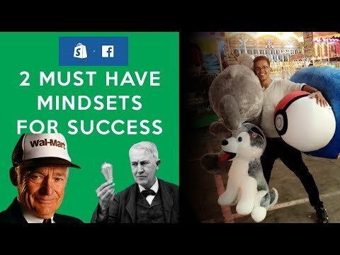"""2 MUST Have """"Mindsets"""" For Success – Drop Shipping With Shopify"""